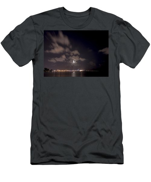 Full Moon In Miami Men's T-Shirt (Athletic Fit)