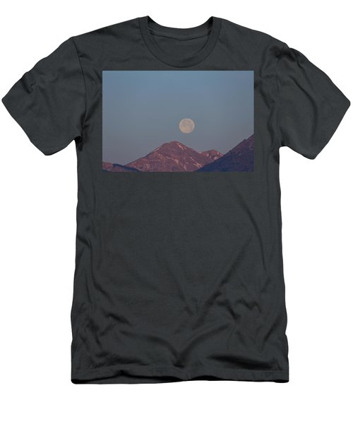 Full Moon Over The Tetons Men's T-Shirt (Athletic Fit)
