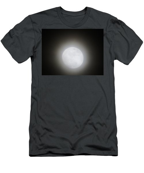 Full Moon Ring Men's T-Shirt (Slim Fit) by Kathy Long
