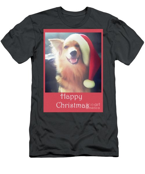 Furry Christmas Elf Men's T-Shirt (Athletic Fit)