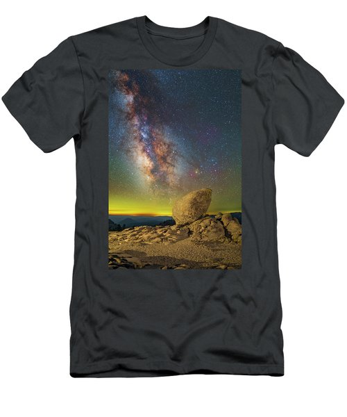 Galactic Erratic Men's T-Shirt (Athletic Fit)