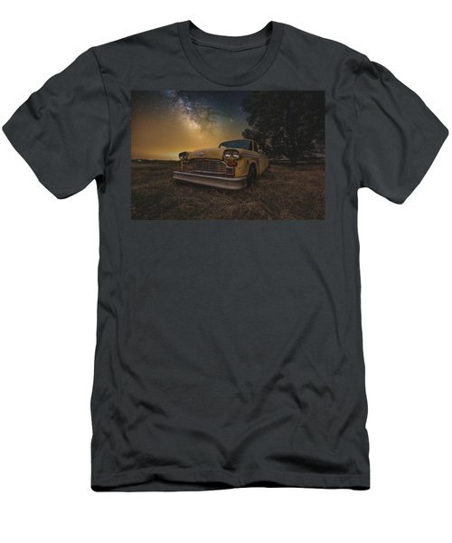 Galactic Taxi Men's T-Shirt (Athletic Fit)
