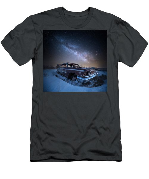 Men's T-Shirt (Slim Fit) featuring the photograph Galaxie 500 by Aaron J Groen
