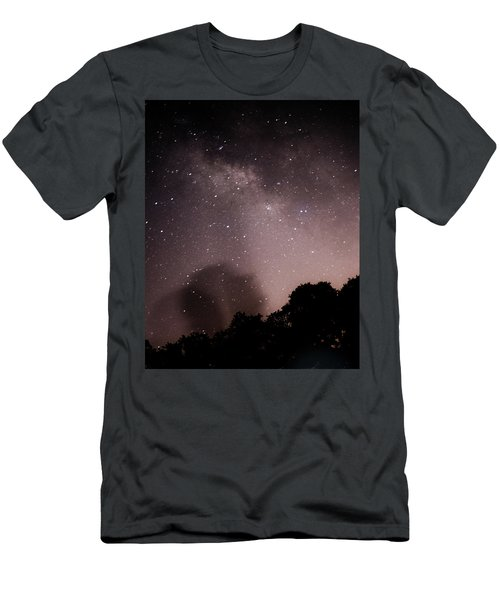 Galaxy Beams Me Men's T-Shirt (Athletic Fit)