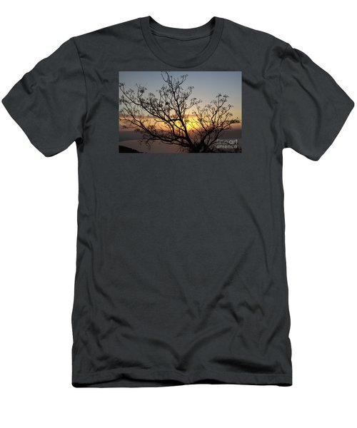 Galilee Sunset Men's T-Shirt (Athletic Fit)