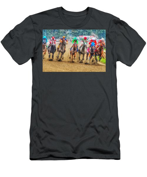 Galloping Men's T-Shirt (Athletic Fit)