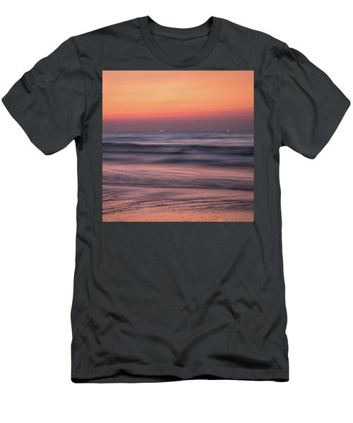 Galveston Morning Men's T-Shirt (Athletic Fit)