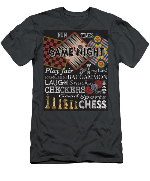 Game Night-jp3500 Men's T-Shirt (Athletic Fit)
