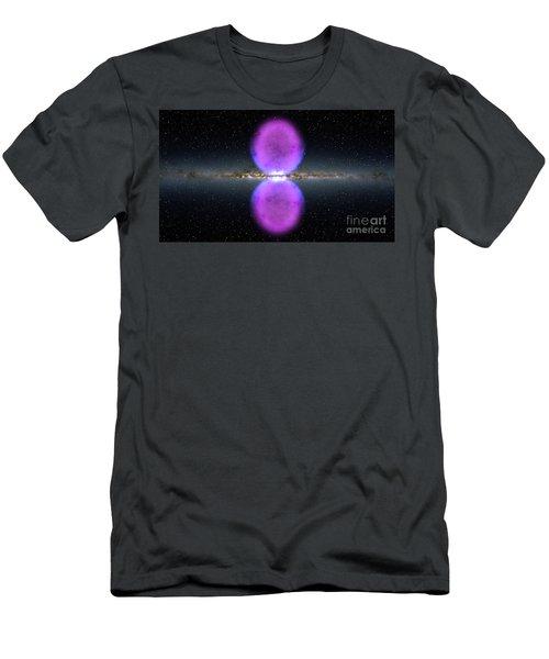 Gamma Ray Bubbles Men's T-Shirt (Slim Fit) by Rod Jellison