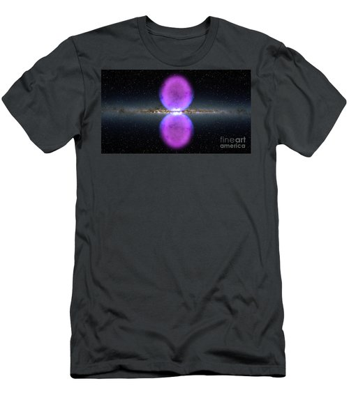 Gamma Ray Bubbles Men's T-Shirt (Athletic Fit)