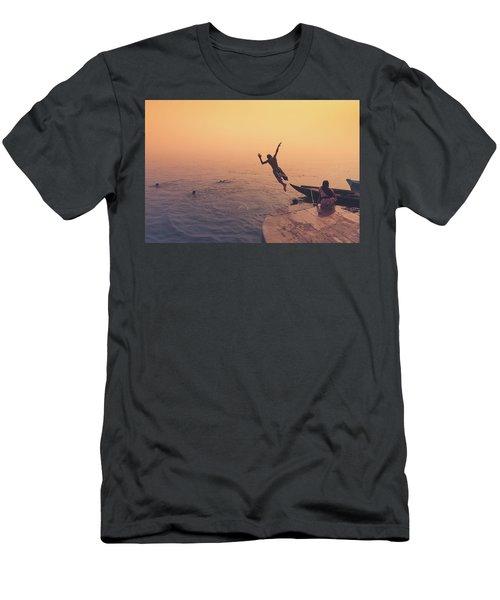 Ganges  Men's T-Shirt (Athletic Fit)