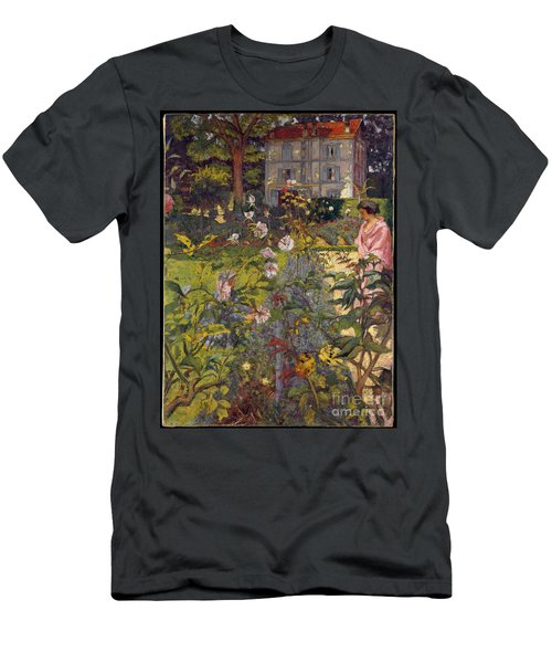 Garden At Vaucresson Men's T-Shirt (Athletic Fit)