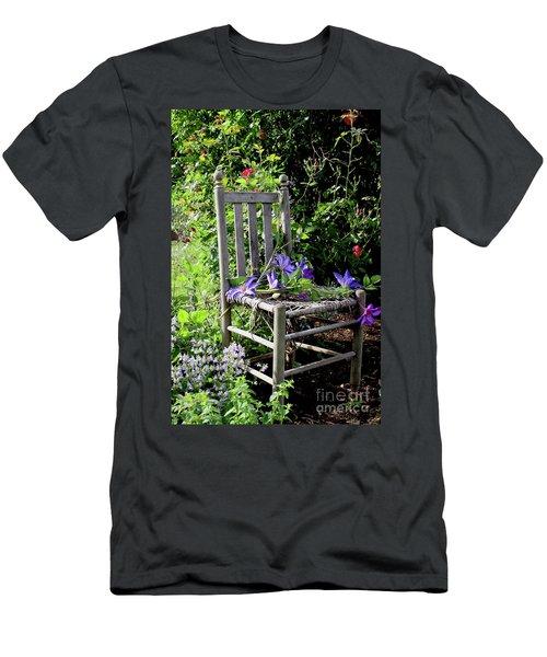 Garden Chair Men's T-Shirt (Athletic Fit)