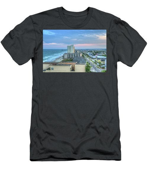 Garden City Beach Men's T-Shirt (Athletic Fit)