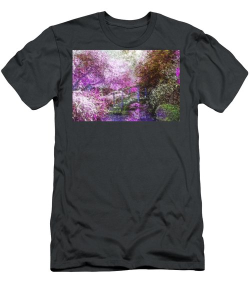 Men's T-Shirt (Athletic Fit) featuring the painting Garden Dream by Mark Taylor