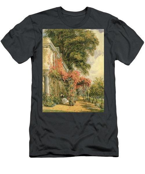 Garden Front Of Mr Robert Vernon's House At Twickenham Men's T-Shirt (Athletic Fit)