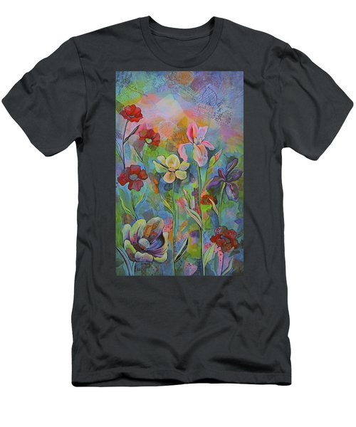 Garden Of Intention - Triptych Center Panel Men's T-Shirt (Athletic Fit)