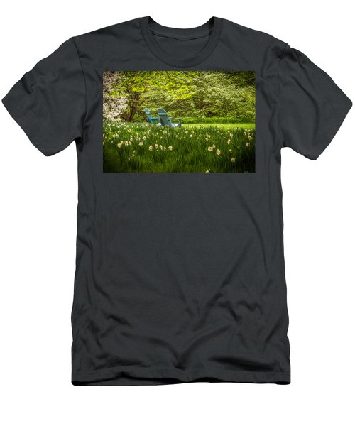 Garden Seats Men's T-Shirt (Athletic Fit)