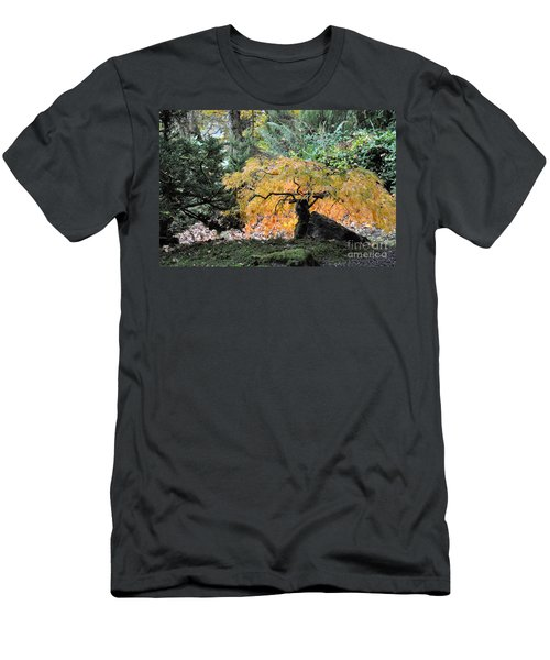 Garden Tapestry Men's T-Shirt (Athletic Fit)