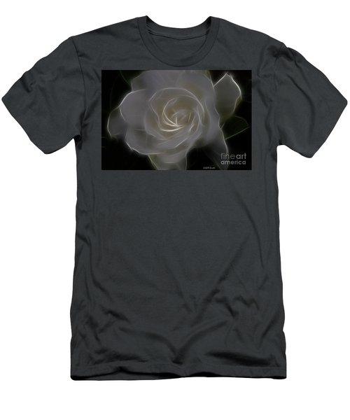 Gardenia Blossom Men's T-Shirt (Athletic Fit)