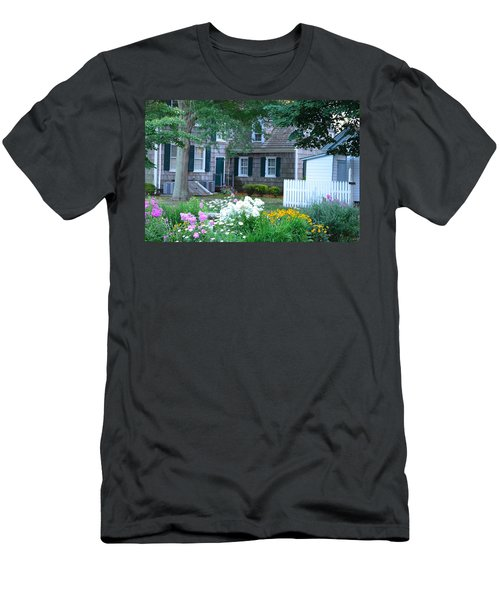 Gardens At The Burton-ingram House - Lewes Delaware Men's T-Shirt (Athletic Fit)