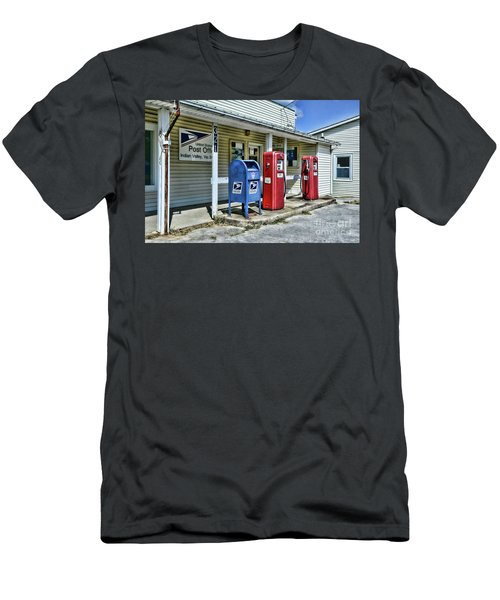 Gas And Mail Men's T-Shirt (Slim Fit) by Paul Ward