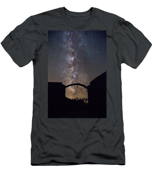 Gate Under The Stars Men's T-Shirt (Athletic Fit)