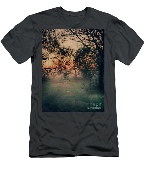 Gated Sunset Men's T-Shirt (Athletic Fit)