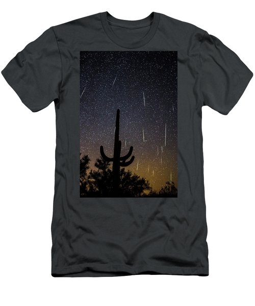 Geminid Meteor Shower #2, 2017 Men's T-Shirt (Athletic Fit)