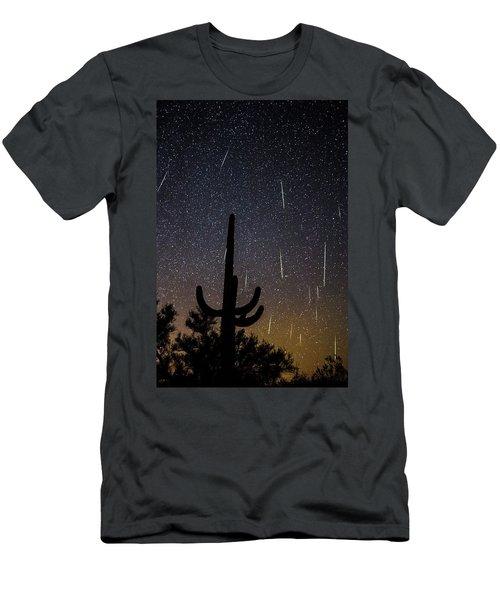 Geminid Meteor Shower #2, 2017 Men's T-Shirt (Athletic Fit)