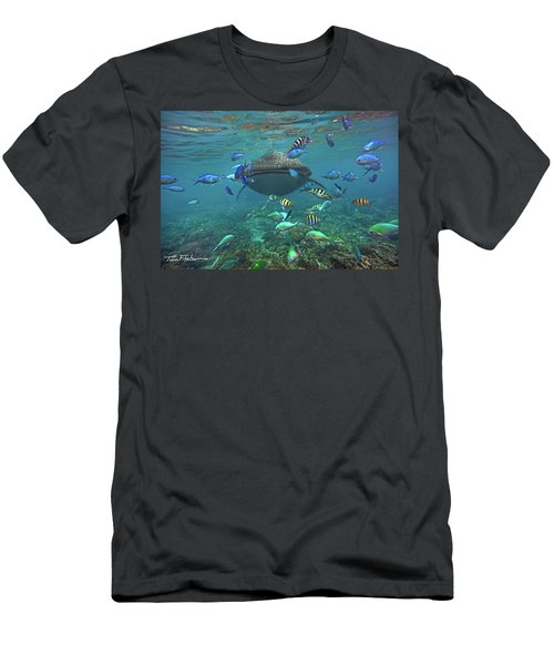 Gentle Giant Men's T-Shirt (Slim Fit) by Tim Fitzharris