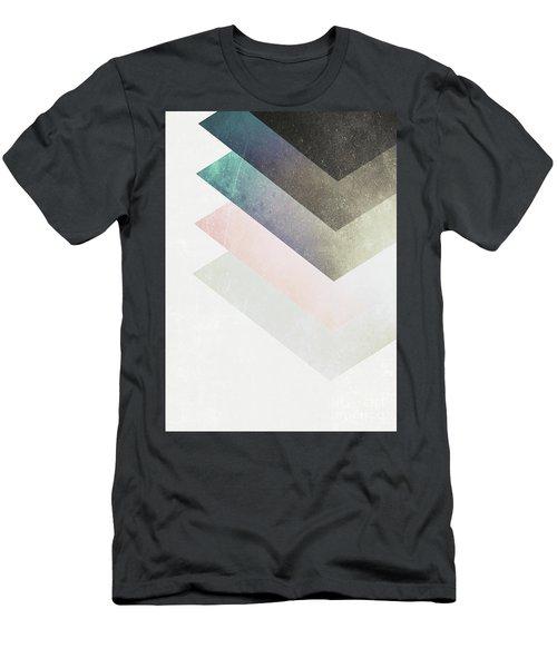 Geometric Layers Men's T-Shirt (Athletic Fit)