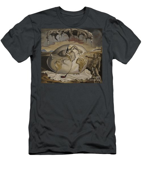 Dali's Geopolitical Child Men's T-Shirt (Athletic Fit)