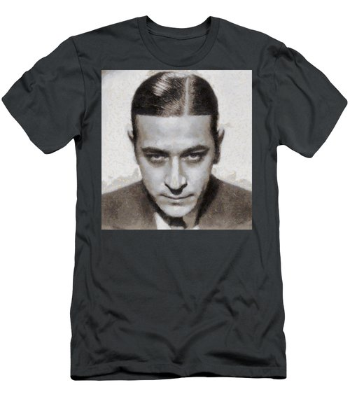 George Raft Hollywood Actor Men's T-Shirt (Athletic Fit)
