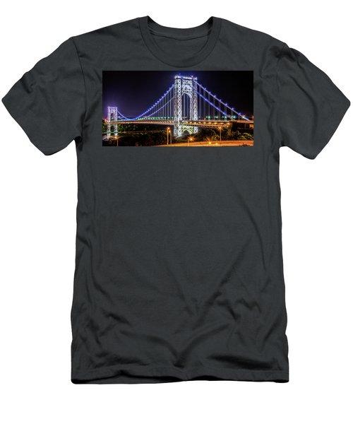 George Washington Bridge - Memorial Day 2013 Men's T-Shirt (Athletic Fit)