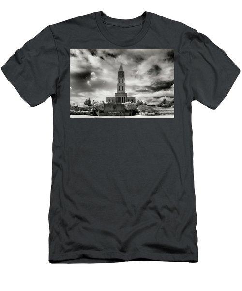 George Washinton Masonic Memorial Men's T-Shirt (Slim Fit) by Paul Seymour
