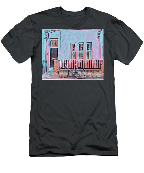 Georgetown Cycle Men's T-Shirt (Athletic Fit)