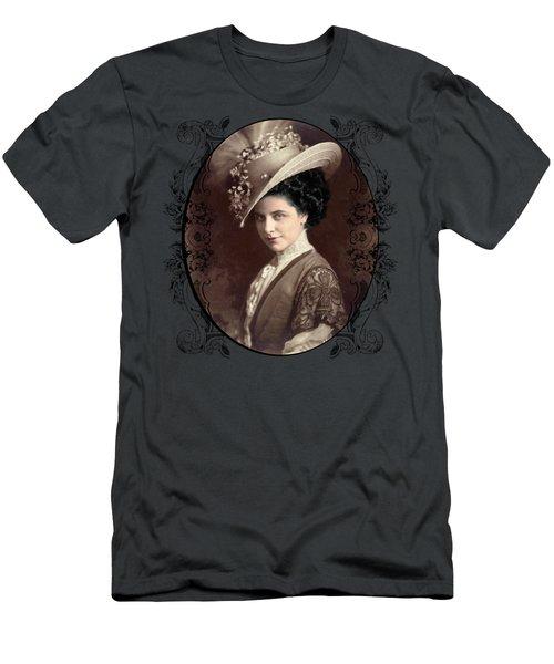 Geraldine Farrar Men's T-Shirt (Athletic Fit)