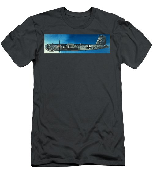 German Aircraft Of World War  Two Focke Wulf Condor Bomber Men's T-Shirt (Athletic Fit)