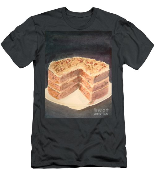 German Chocolate Cake Men's T-Shirt (Athletic Fit)