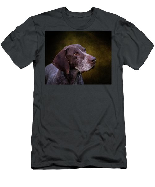 German Shorthaired Pointer Men's T-Shirt (Athletic Fit)