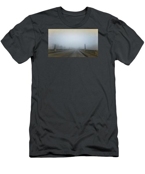 Men's T-Shirt (Slim Fit) featuring the photograph Gervais Bridge Christmas Day by Steven Richardson