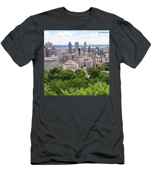 Getting My #fitbit Steps In And Men's T-Shirt (Athletic Fit)