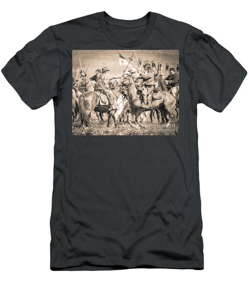 Gettysburg Cavalry Battle 8021s  Men's T-Shirt (Athletic Fit)