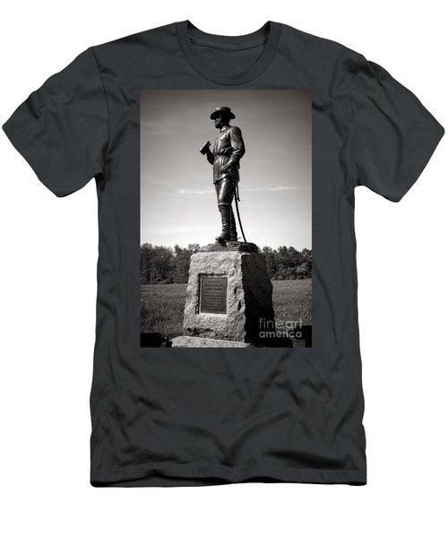 Gettysburg National Park Major General John Buford Monument Men's T-Shirt (Athletic Fit)