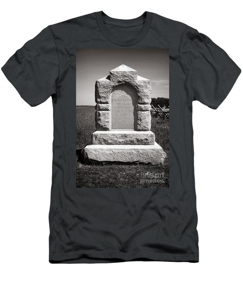Gettysburg National Park Third West Virginia Cavalry Monument Men's T-Shirt (Athletic Fit)
