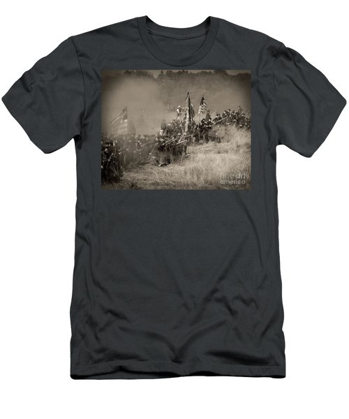 Gettysburg Union Infantry 8947s Men's T-Shirt (Athletic Fit)