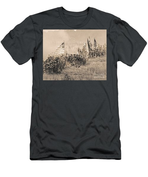 Gettysburg Union Infantry 8948s Men's T-Shirt (Athletic Fit)