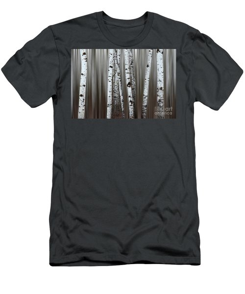 Men's T-Shirt (Slim Fit) featuring the photograph Ghost Forest 1 by Bob Christopher