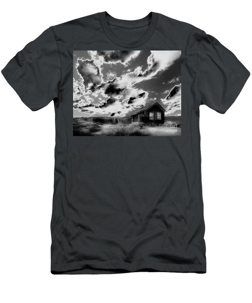 Men's T-Shirt (Slim Fit) featuring the photograph Ghost House by Jim and Emily Bush